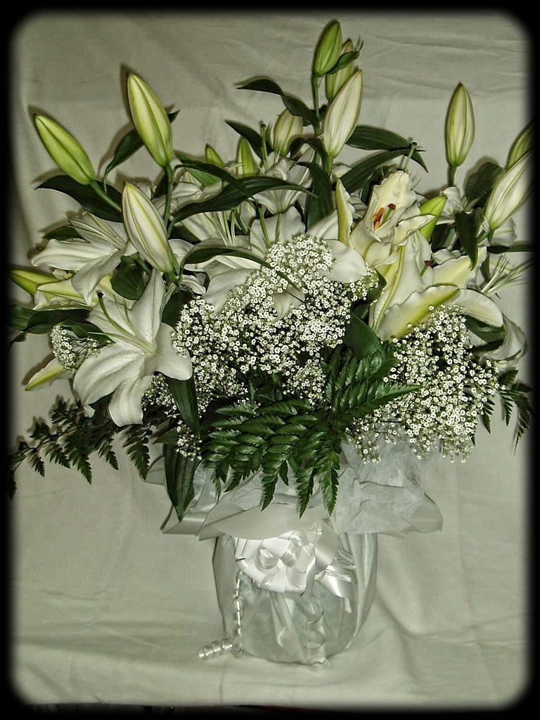 Bouquet oriental para nacimientos