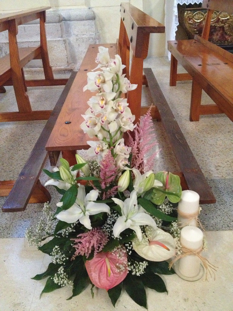 Decoración iglesia boda